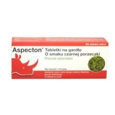 ASPEKTON * 30 tabl.do ssania o smaku czarnej porzeczki