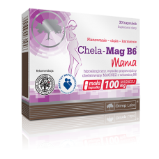 CHELA-MAG B6 MAMA*30 KAPS.