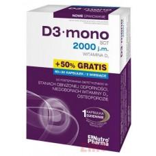 D3 mono 2000 j.m.(w.D3)* 60+30k.(50%gra)