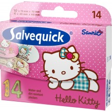 PLASTER SALVEQUICK  HELLO KITTY *14 SZT.